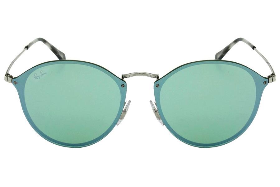 8137912c4b39c óculos de sol ray ban blaze round rb3574n 003 30 59 prata es. Carregando  zoom.