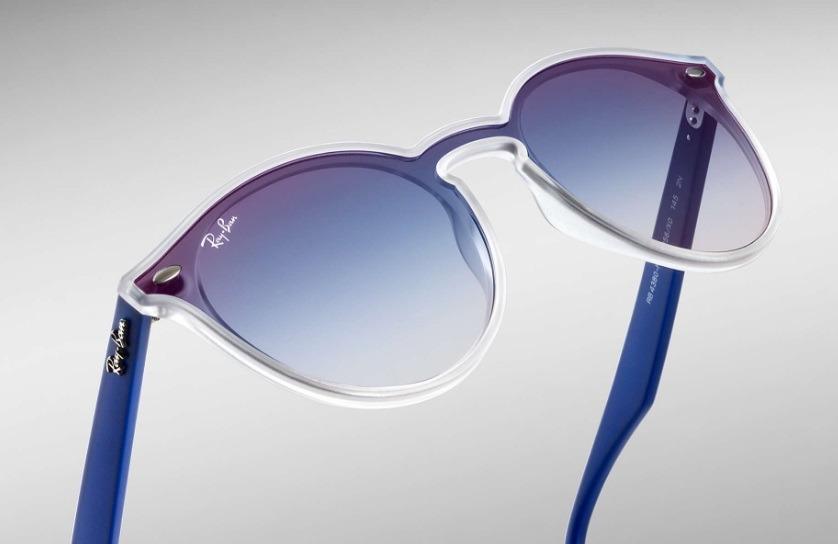 e7f1fe261 Óculos De Sol Ray Ban Blaze Round Rb4380 6356/x0 - Original - R$ 509,00 em  Mercado Livre