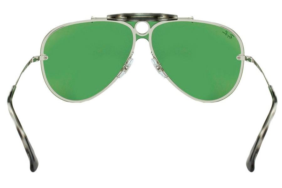 56b934c499887 Óculos De Sol Ray Ban Blaze Shooter Rb3581n 003 30 32 Prata - R  619 ...