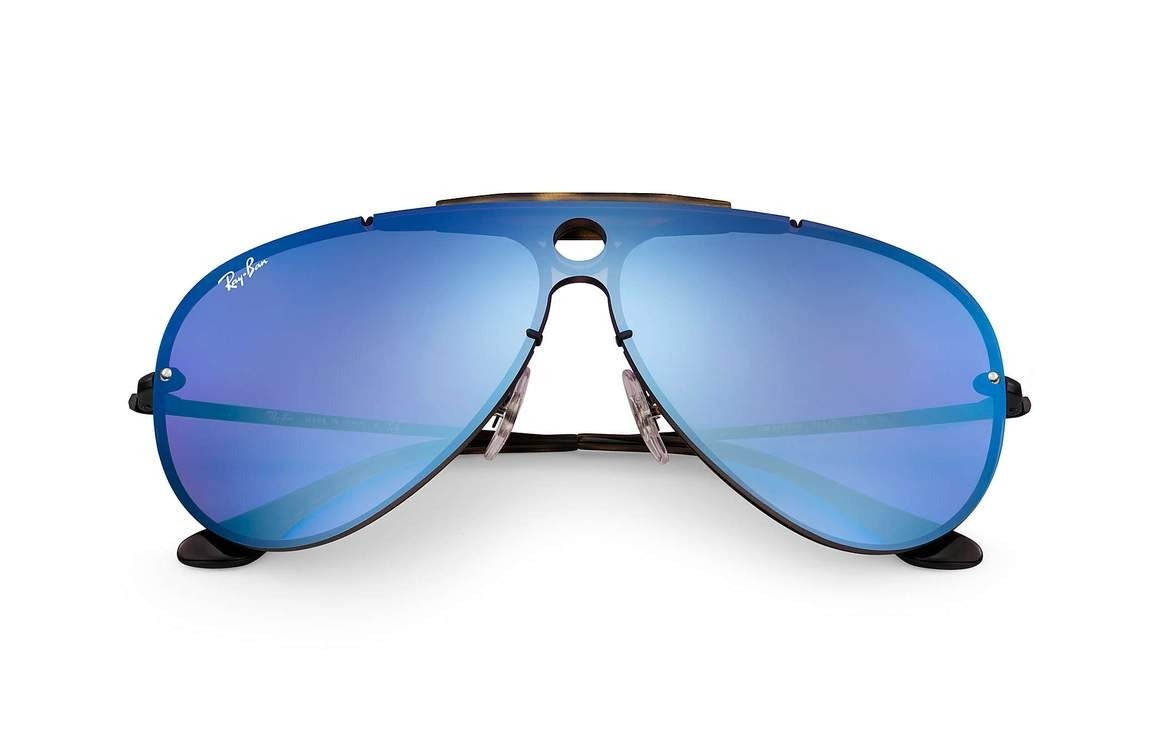 7c556ed87f0f7 Óculos De Sol Ray Ban Blaze Shooter Rb3581n 1537v32 - R  620