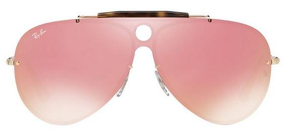 e5de855309cf7 Óculos De Sol Ray Ban Blaze Shooter Rb3581n - R  220,00 em Mercado Livre