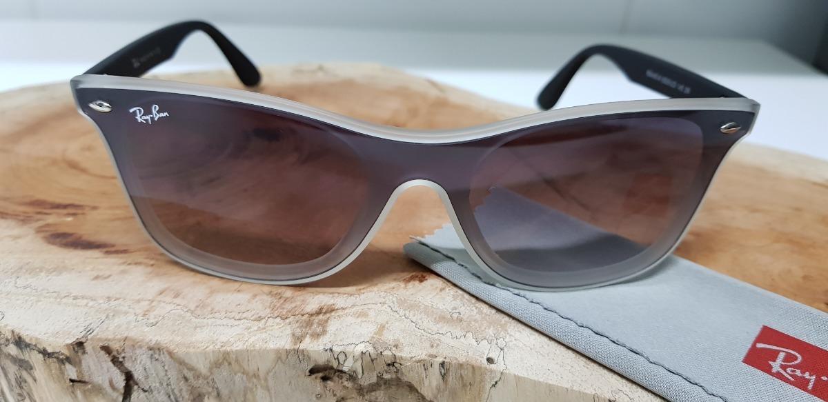 óculos de sol ray-ban blaze wayfarer nylon rb4440 degradê. Carregando zoom. 456c797290