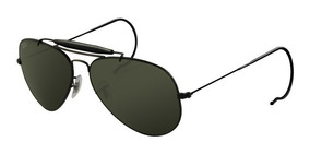 493351c78 Óculos Ray Ban Rb3030 Caçador 62 Mm G Preto/verde - Óculos De Sol no  Mercado Livre Brasil