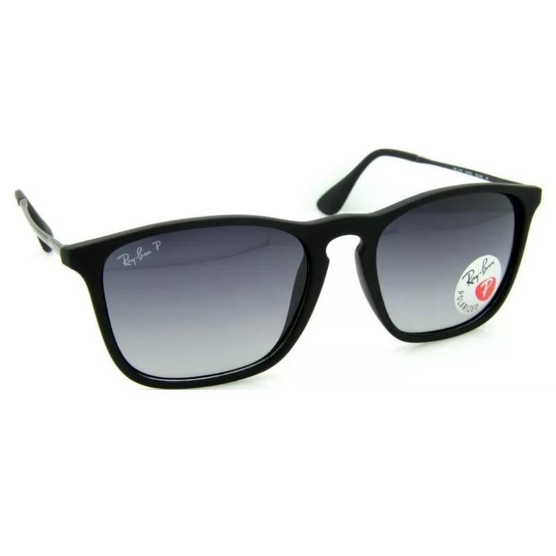 cd60112696a31 oculos de sol ray ban chris polarizado masculino feminino. Carregando zoom.