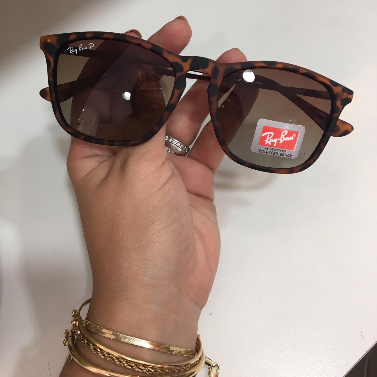e56e6e20c40f0 óculos de sol ray ban chris tartaruga frete gratis. Carregando zoom.