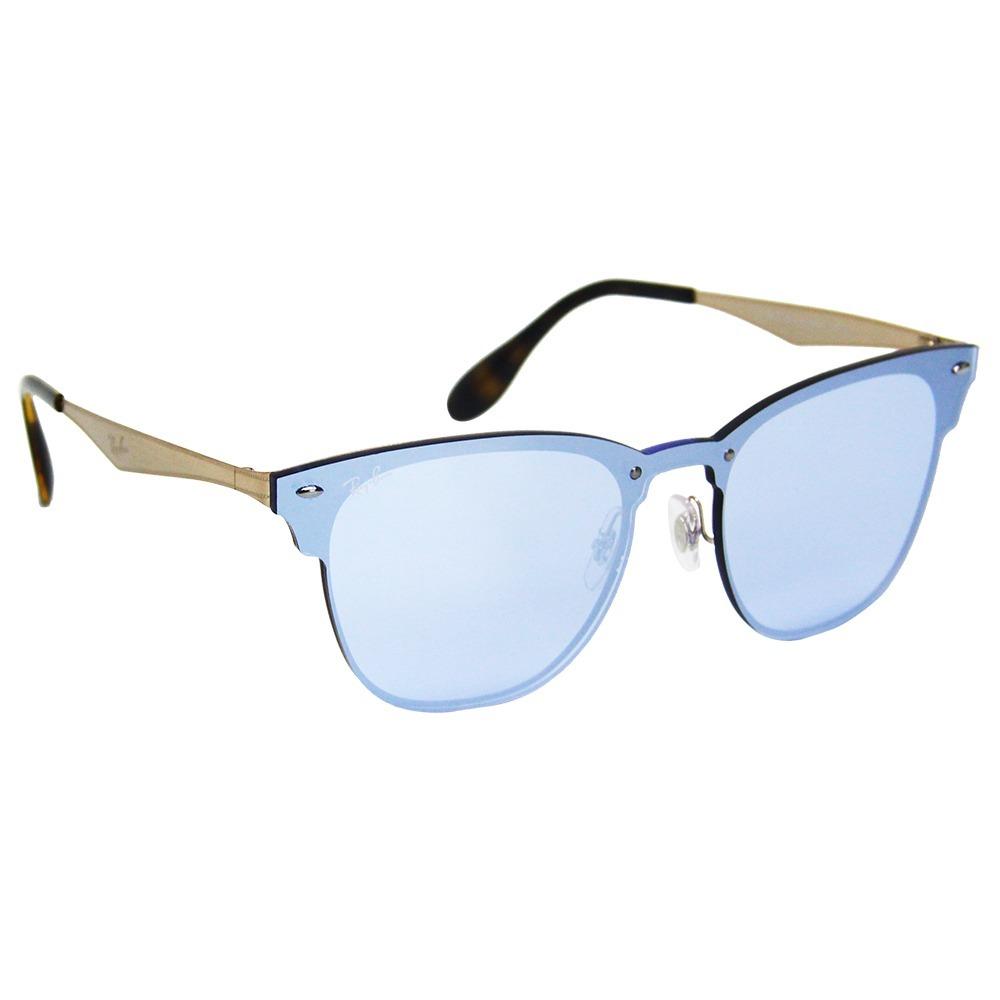 ba368a0f6 Óculos De Sol Ray-ban Clubmaster Blaze 3576 - R$ 599,49 em Mercado Livre