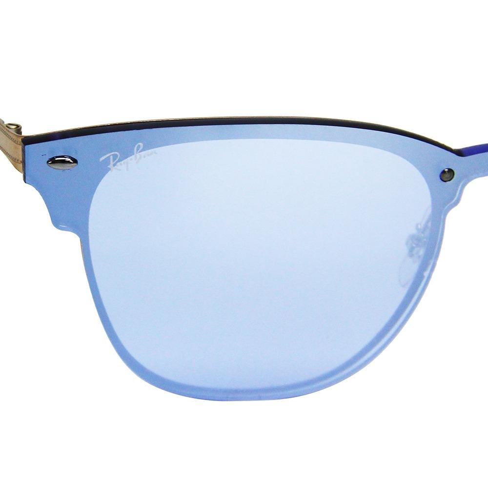 c1c86f4a507530 Óculos De Sol Ray-ban Clubmaster Blaze 3576 - R  599,49 em Mercado Livre