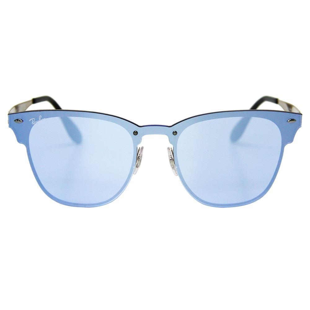 162529805a084 Óculos De Sol Ray-ban Clubmaster Blaze 3576 - R  599,49 em Mercado Livre