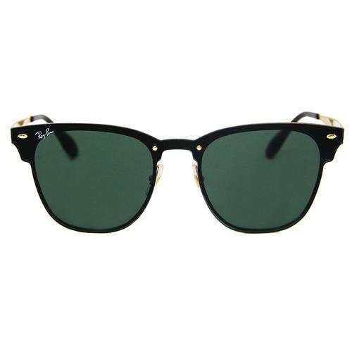 55620c151 Óculos De Sol Ray-ban Clubmaster Blaze 3576 Dourado - R$ 469,99 em ...