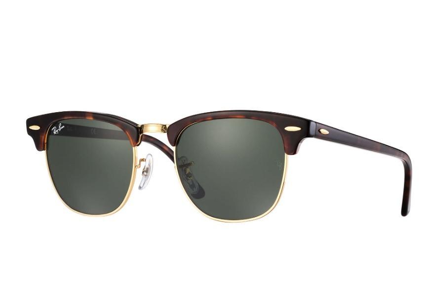 óculos de sol ray-ban clubmaster classic original usado. Carregando zoom. fee4a65f80