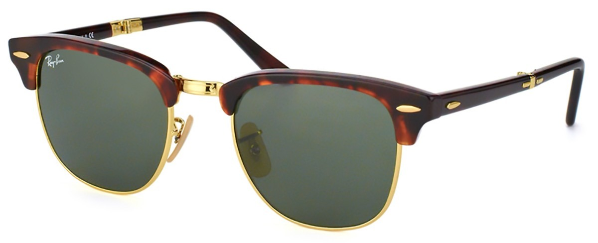 4d97a2208497d óculos de sol ray ban clubmaster dobrável rb2176 990 - 51mm. Carregando  zoom.
