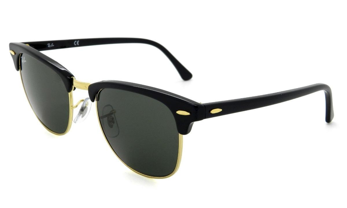3c2b1b233 Óculos De Sol Ray Ban Clubmaster Preto - R$ 520,00 em Mercado Livre