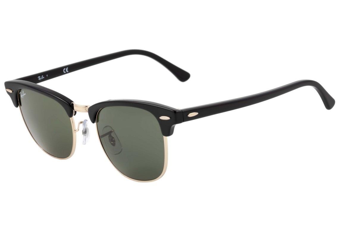 óculos de sol ray ban clubmaster rb 3016 w0365 - original. Carregando zoom. 9a7c5b4885