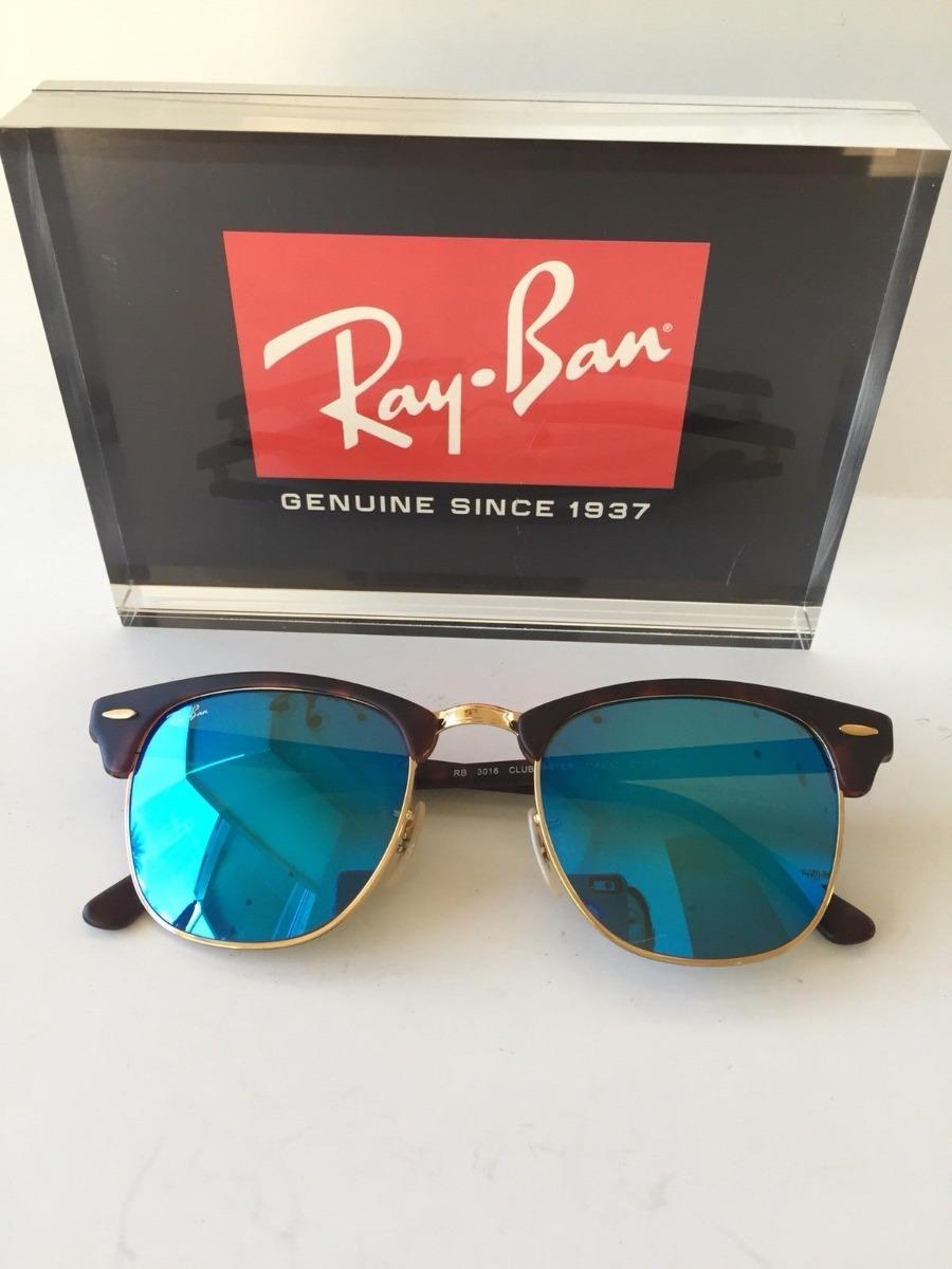 6b75ebb98 oculos de sol ray ban clubmaster rb3016 tartaruga espelhado. Carregando  zoom.