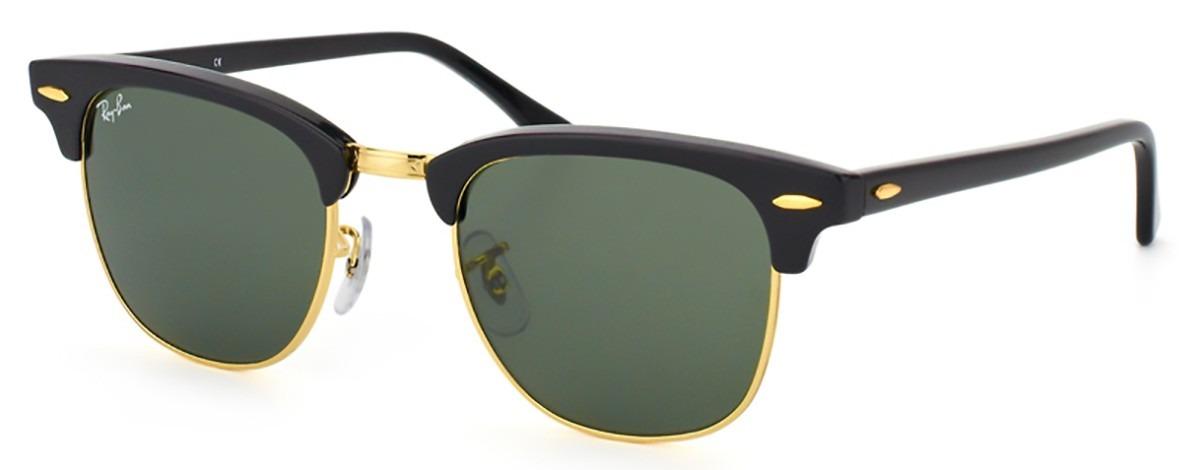 b7c5e6e3eb394 óculos de sol ray ban clubmaster rb3016 w0365 - tam.  51 mm. Carregando  zoom.