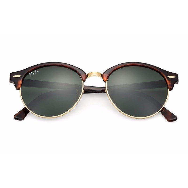 c58823532 óculos de sol ray ban clubround rb4246 990 51 tartaruga/dour. Carregando  zoom.