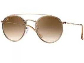 f7099eaa3 Ray Ban Rb 3647 N Round Double Bridge - Óculos no Mercado Livre Brasil