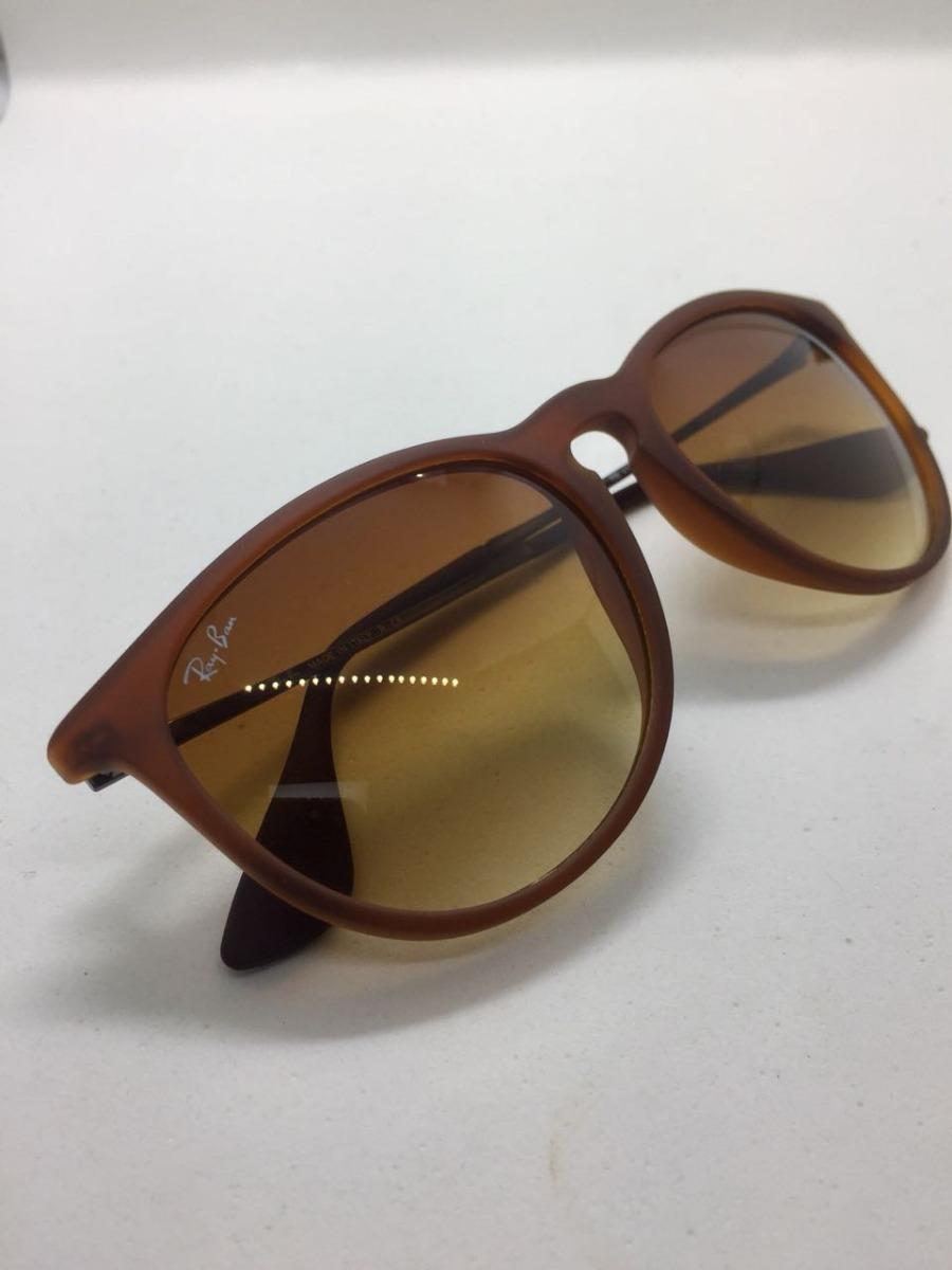 b77a8d883aa6c óculos de sol ray ban erika rb 4171 marrom original feminino. Carregando  zoom.