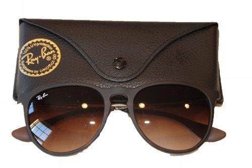 Óculos De Sol Ray Ban Erika Rb 4171 Marrom Original Feminino - R ... 824fa7d808