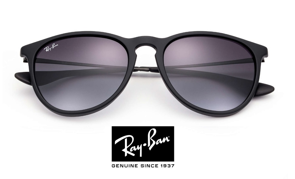 óculos de sol ray ban erika rb 4171 preto original feminino. Carregando  zoom. 31f6bd7e22