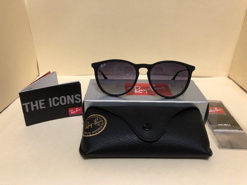óculos de sol ray ban erika rb 4171 preto original feminino. Carregando  zoom. 4c38c4a652583