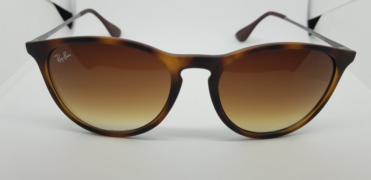 óculos de sol ray-ban érika rb4171 marrom tartaruga original. Carregando  zoom. df9ba2745e
