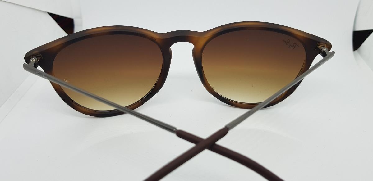 2d920f863 óculos de sol ray-ban érika rb4171 marrom tartaruga original. 10 Fotos