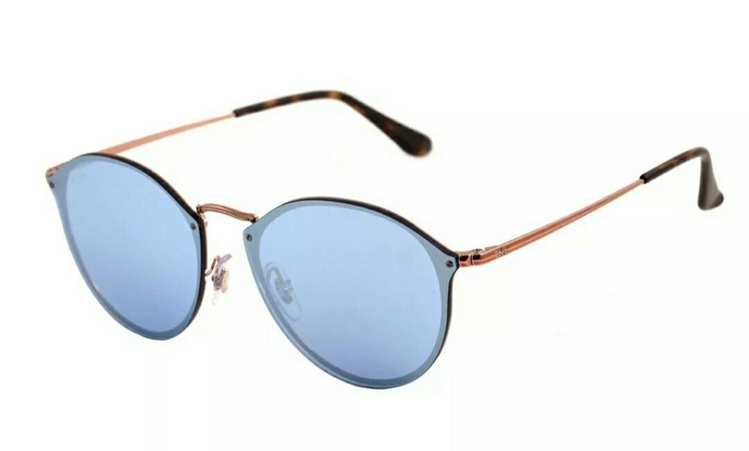 78bae5f873 óculos de sol ray ban feminino blaze round rb3574n 001 e4. Carregando zoom.