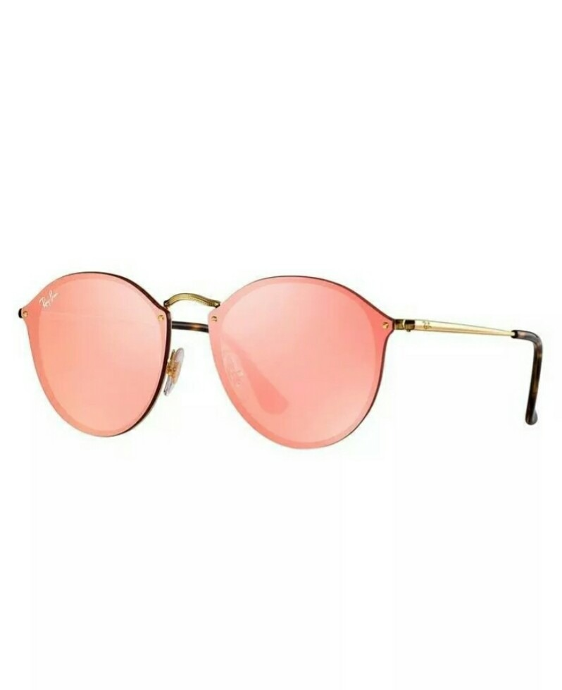 cd3cb679c óculos de sol ray ban feminino blaze round rb3574n 001/e4. Carregando zoom.