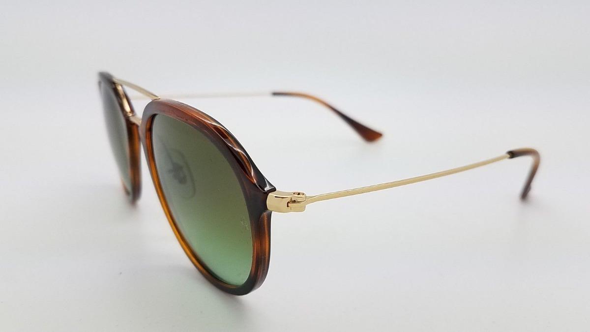 044fea09789fc Oculos De Sol Ray Ban Feminino Masculino Rb4253 Tartaruga - R  178,90 em  Mercado Livre