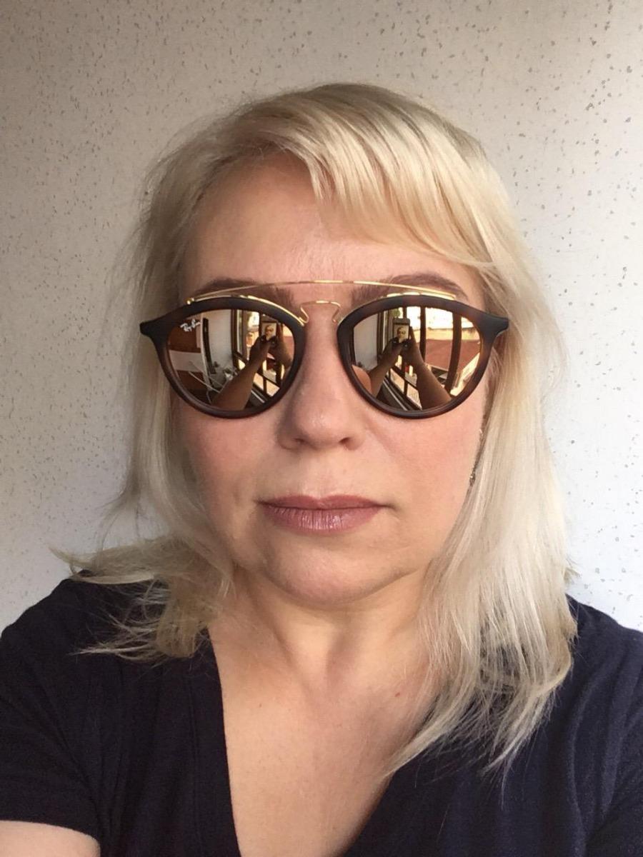 232172612 Óculos De Sol Ray-ban Gatsby Oval Rb 4257 - R$ 200,00 em Mercado Livre