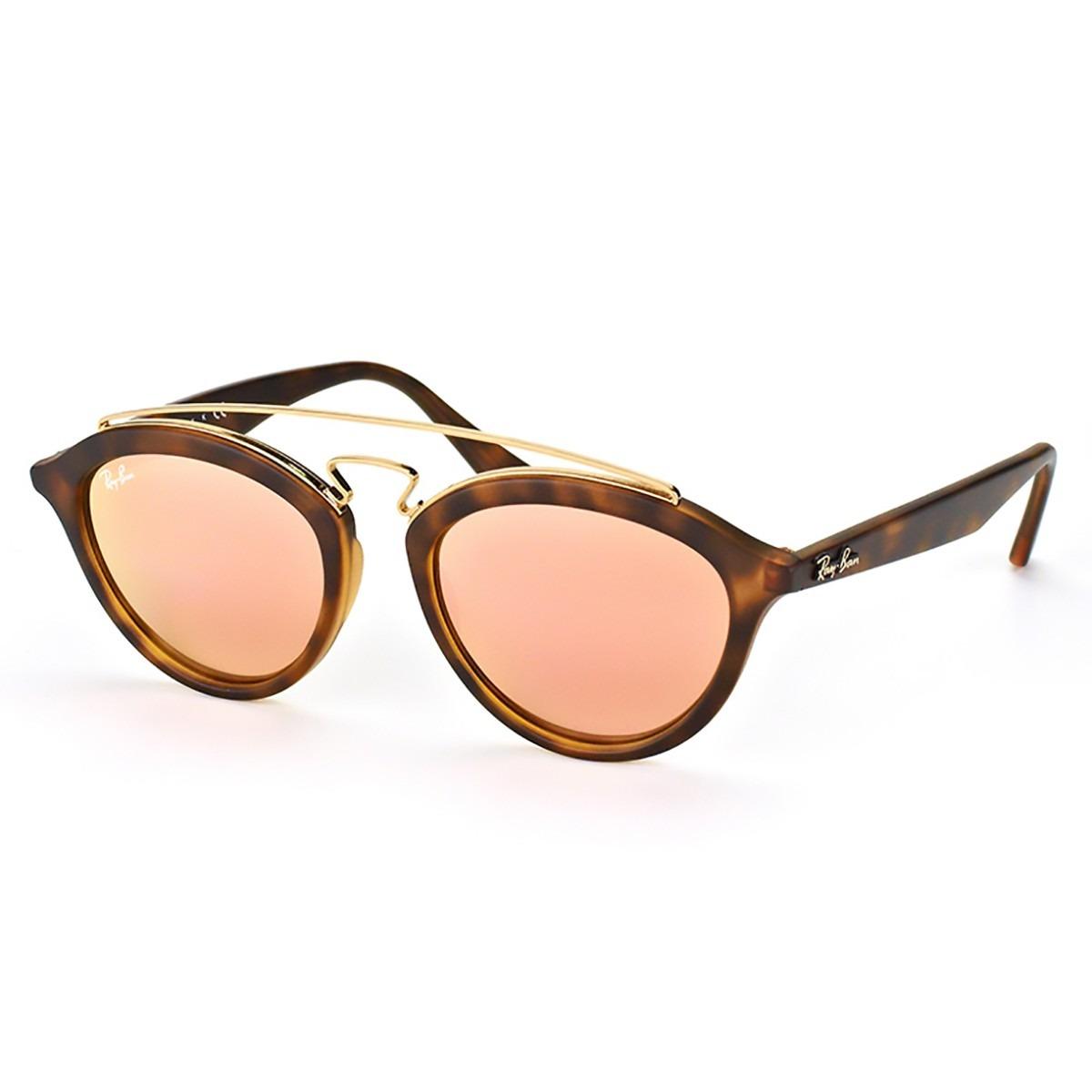 1805eca94 Óculos De Sol Ray Ban Gatsby Oval Rb4257 - R$ 488,00 em Mercado Livre