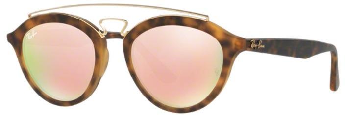 Óculos De Sol Ray Ban Gatsby Oval Rb4257 Tartaruga Lente Ro - R  464 ... a49c78f9ca