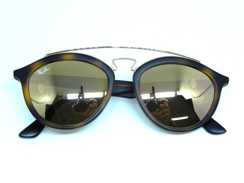 5d38248ed5727 Oculos De Sol Ray Ban Gatsby Rb4257 6092 2y 53 - R  419