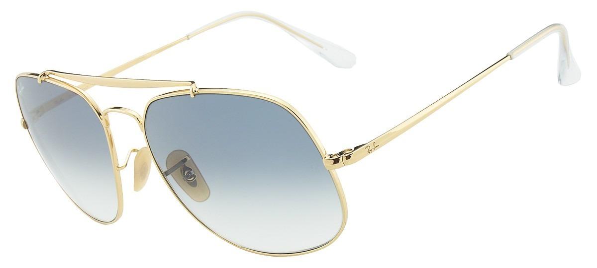 91492d7086e10 óculos de sol ray-ban general rb3561 001 3f original. Carregando zoom.