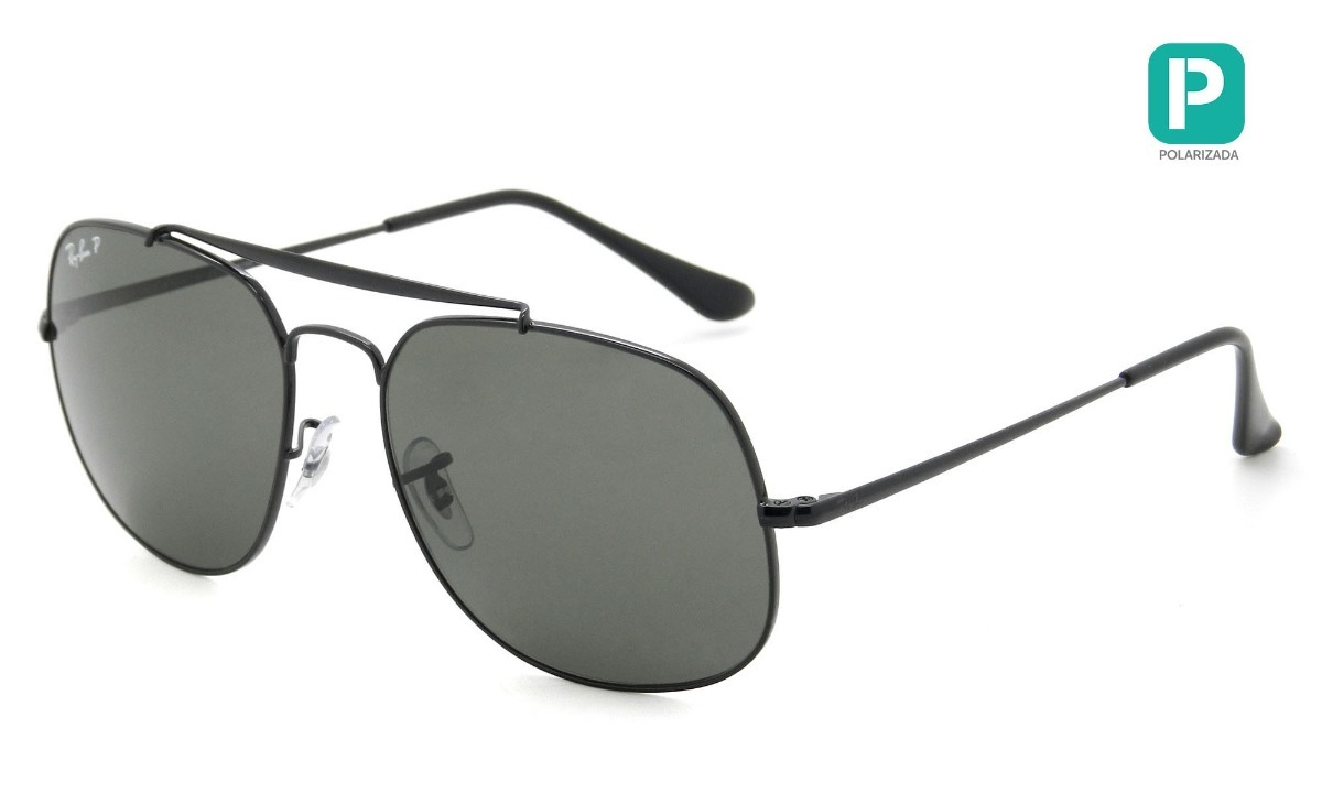 0775a34a74437 óculos de sol ray-ban general rb3561 002 58 pol. original. Carregando zoom.