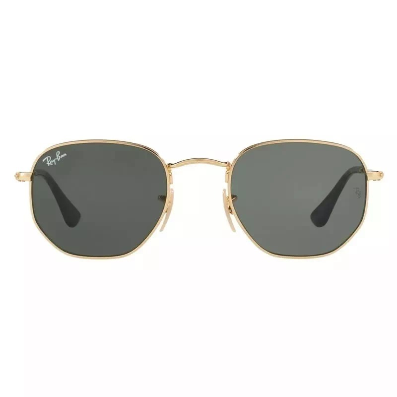 e817a311b óculos de sol ray ban hexagonal dourado lentes classica uv. Carregando zoom.