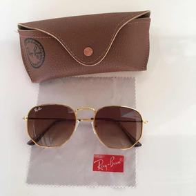 735a63933 Oculos De Sol Com Lentes De Cristal Polarizada no Mercado Livre Brasil