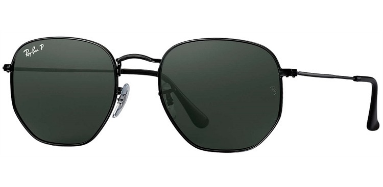 Óculos De Sol Ray Ban Hexagonal Polarizado Rb3548-n - 5 - R  469,00 ... f83c145083