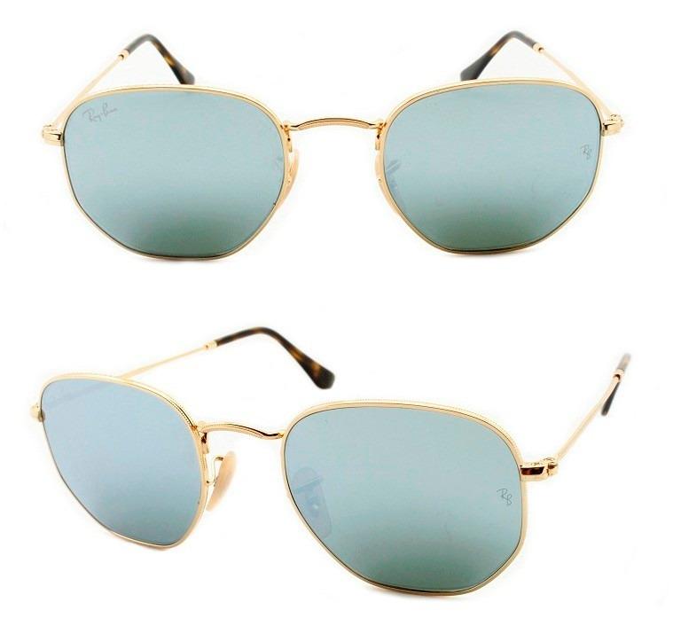 Óculos De Sol Ray-ban Hexagonal Rb 3548 N 001 30 54 Original - R ... a906e6c10e