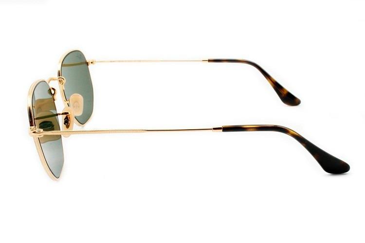 5f0e03af59 Óculos De Sol Ray-ban Hexagonal Rb 3548 N 001/30 54 Original - R ...