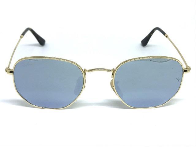 Óculos De Sol Ray Ban Hexagonal Rb 3548n 001 30 54 - R  399,00 em ... 7d6c1d17cb