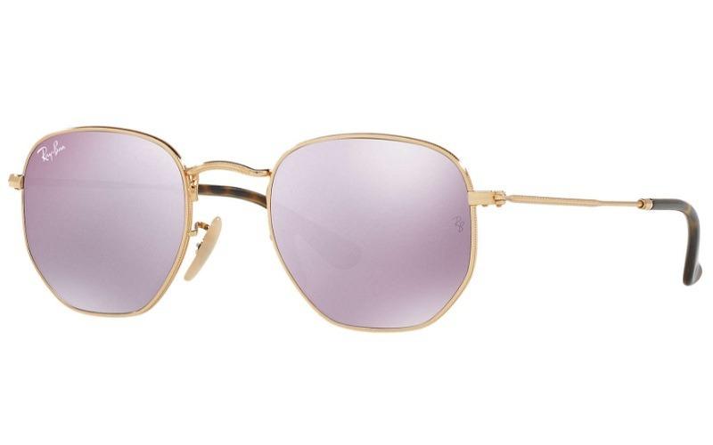 810795b1d Óculos De Sol Ray-ban Hexagonal Rb 3548n Nota Fiscal Tam. 51 - R ...