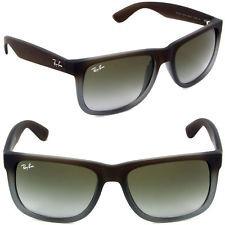 Óculos De Sol Ray Ban Justin Clássico Marrom Verde Degradê - R  460 ... 8471962798