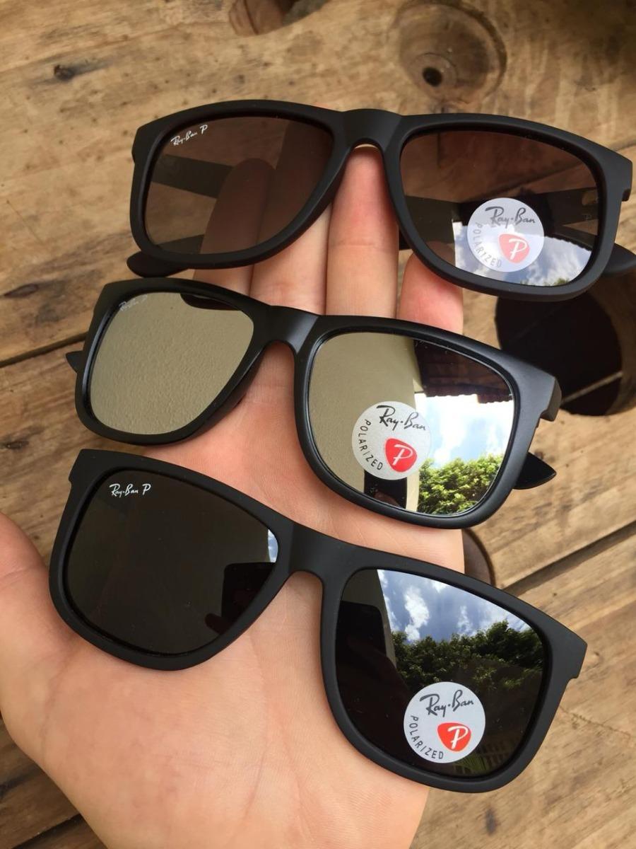 5e126e8de9 ... ray ban justin lentes polarizadas kit 2 oculos. Carregando zoom.
