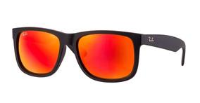 659c51c55 Oculos Rayban Justin Lente Vermelha - Óculos De Sol no Mercado Livre ...