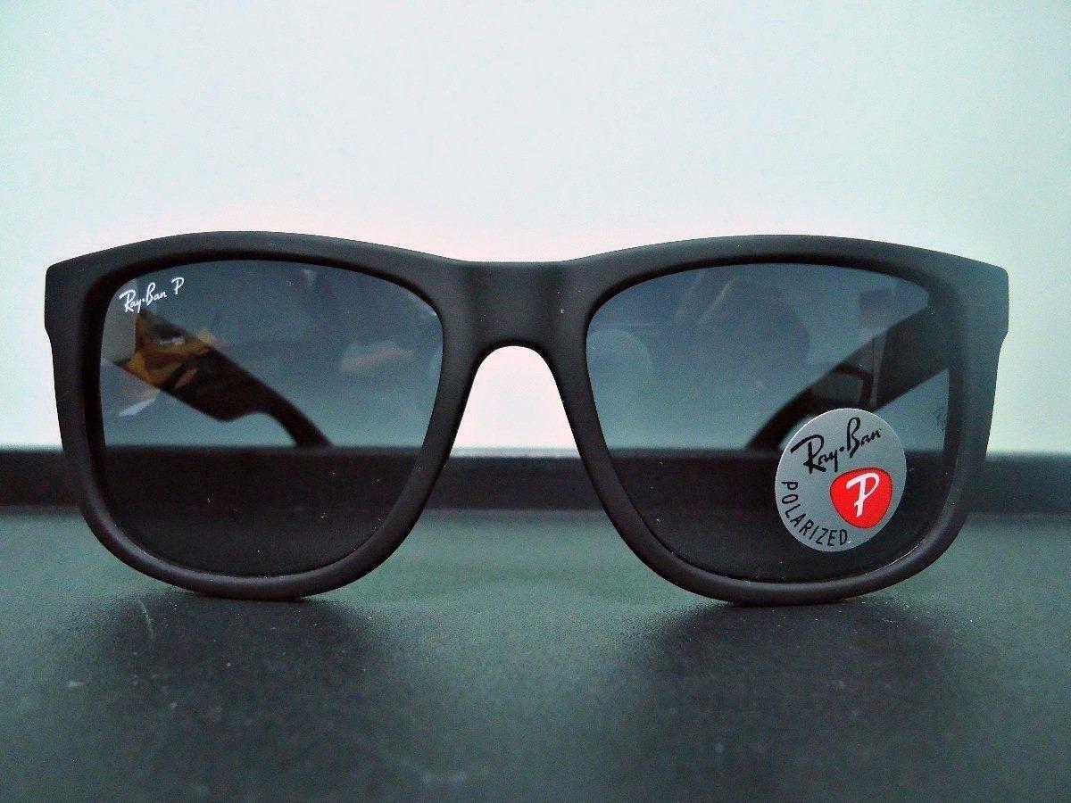 oculos de sol ray ban justin polarizado masculino feminino. Carregando zoom. ee8b778d6b