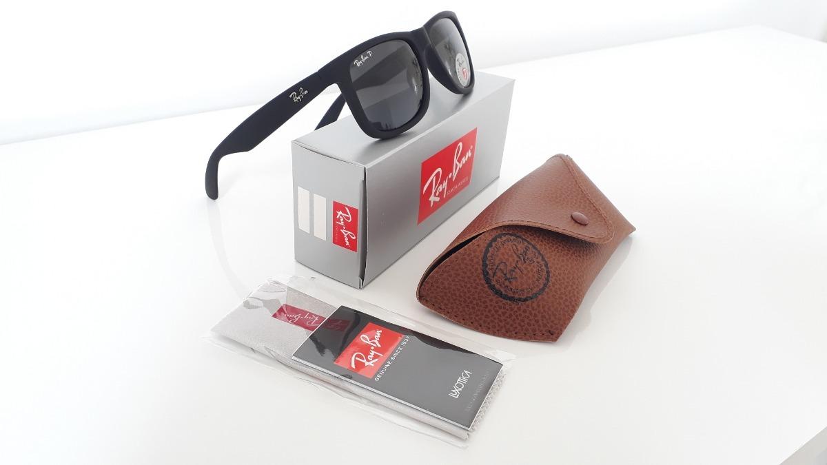 Óculos De Sol Ray Ban Justin Preto Barato - R  65,80 em Mercado Livre 9797dc28de