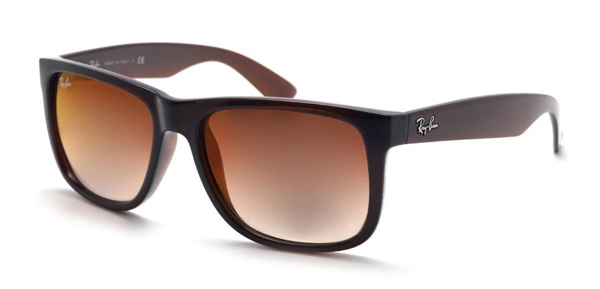 647c477b7 óculos de sol ray ban justin rb 4165 714/s0 - original. Carregando zoom.