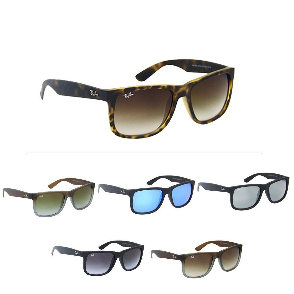 7129168c6 Óculos De Sol Ray Ban Justin Rb 4165 - Masculino - R$ 439,00 em ...